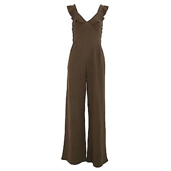 Girls On Film Womens/Ladies Sabor Frill Jumpsuit