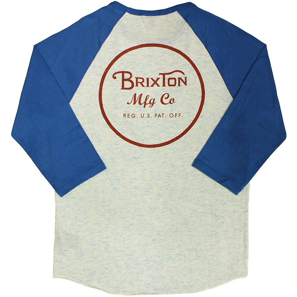 Brixton Wheeler T-Shirt Royal