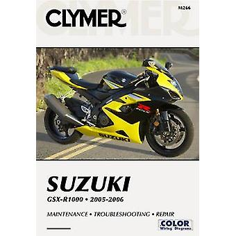 Clymer Suzuki GSX-R1000 - 2005-2006 by Clymer Publications - 97815996
