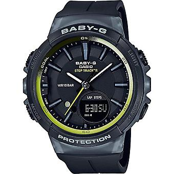 Casio Baby-G Women Watch with Step Counter - Black (BGS-100-1AER)