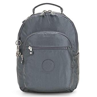 Kipling Basic Plus - School Backpack - 35 cm - Steel Gr Metal (Grey) - KI3789H55