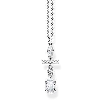 Thomas Sabo Donna Silver Necklace with Pendant KE1892-051-14-L45v