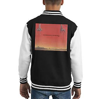 A.P.O.H Salvador Dali Fear Of Perfection Quote Kid's Varsity Jacket