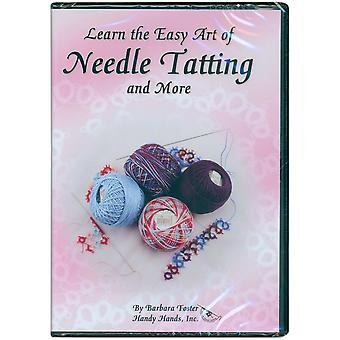 Leer de eenvoudige kunst van Needle Tatting Dvd 45 minuten Dvd1on