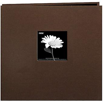 Book Cloth Cover Postbound Album With Window 8