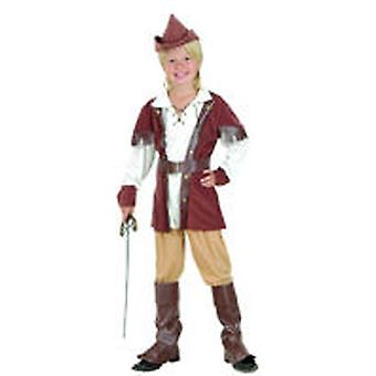Guirca Robin Hood Child Costume Size 4-6 years (Costumi)