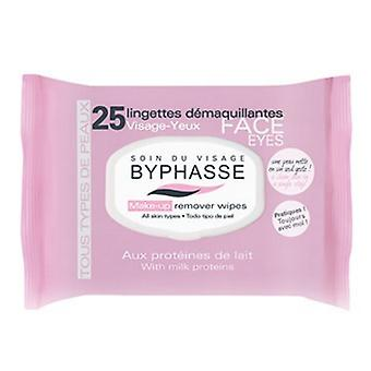 Byphasse Skin Wipes All Types 25 Units (Woman , Cosmetics , Skin Care , Facial Cleansing)