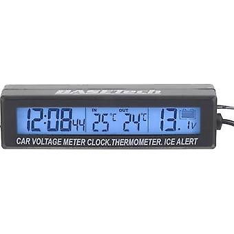 Thermometer Assembly kit, Ice alert, Sensor cable, Inside temperature, Outside temperature EC88 Basetech