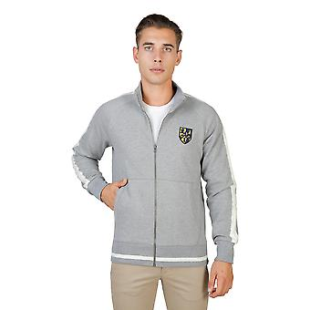Hommes Oxford University pull gris