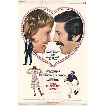 Affiche du film Public Eye (11 x 17)