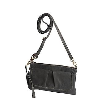 Dr Amsterdam shoulder bag/Clutch Olive Black