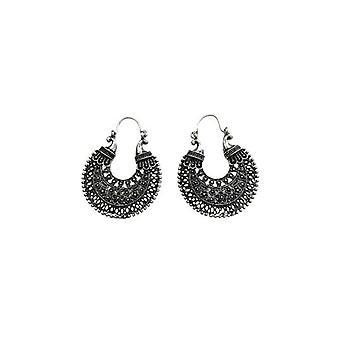 Nice moon shaped statement earrings