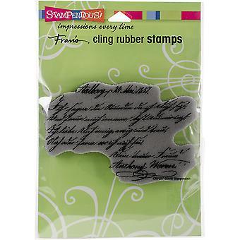 Stampendous Cling Stamp 4.5
