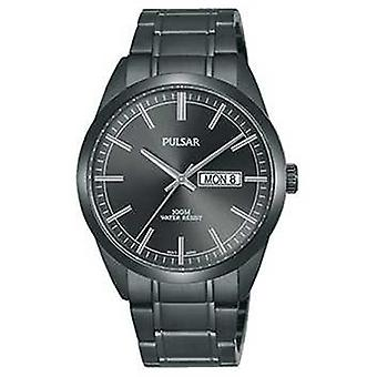Pulsar Gents Grey Stainless Steel PJ6075X1 Watch