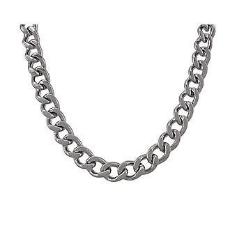 Colar de Link de meio-fio de aço inoxidável de 24 polegadas 3/8 de polegada ampla