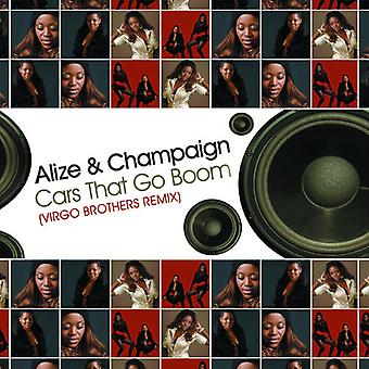 Alize & Champaign - Cars That Go Boom (Virgo Brothers Remix) USA import