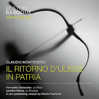 Boston Baroque - Monteverdi: Il Ritorno D'Ulisse in Patria [SACD] USA import