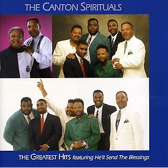 Canton Spirituals - Greatest Hits CD] USA importerer
