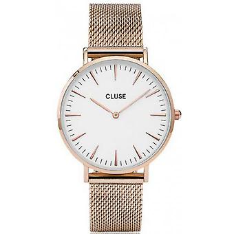 Watch Cluse Bohemia CL18112 - Watch Gold Rose joint Milanese