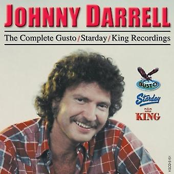 Johnny Darrell - Johnny Darrell: Importación de USA de completo Gusto/Starday [CD]