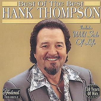 Hank Tompson - Best of the Best [CD] USA import