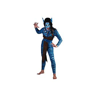 Warrior costume of blue jungle Warrior costume women