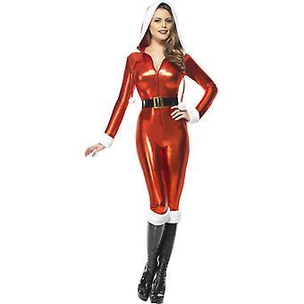 Sexy Santa kostym damer erotiska Nikolausin kostym Nicholas