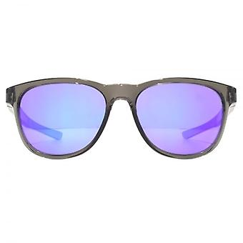 Oakley Stringer Sunglasses In Grey Smoke Violet Iridium