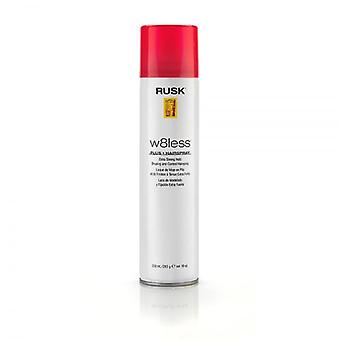 Rusk Designer Collection W8less Plus Extra Strong Shaping And Control Spray