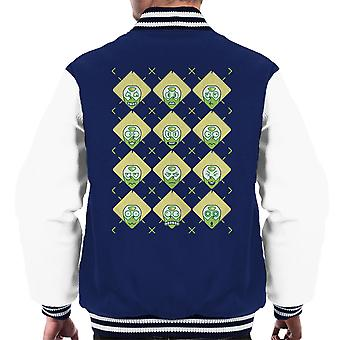 Arg You Clods Argyle Steven Universe Men's Varsity Jacket