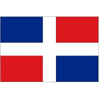 Dominican Republic Flag 5ft x 3ft With Eyelets For Hanging
