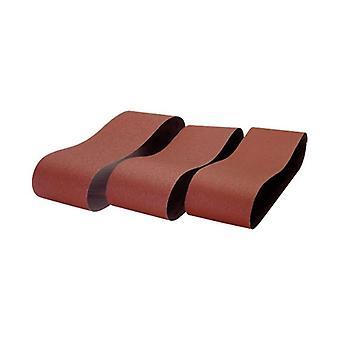 Record de puissance BDS150/B1-3PK 100 x 915mm 60 grain 3 Pack de ceintures