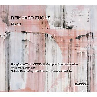 Fuchs, Richard / Wien, Klangforum / Beat Furrer - Reinhard Fuchs: mani [CD] USA import