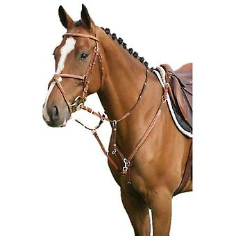 QHP Luxury Breastplate Stitching Pony (Horses , Pony world , Bridles and reins)