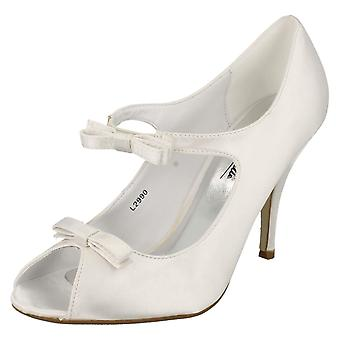 Ladies Anne Michelle Open Toe Wedding Heels L2990