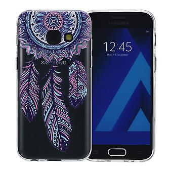 Henna cover for Samsung Galaxy J3 2017 case protective cover silicone dream catcher