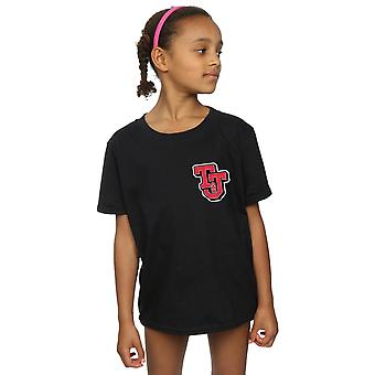 Tom And Jerry Girls Collegiate Logo T-Shirt