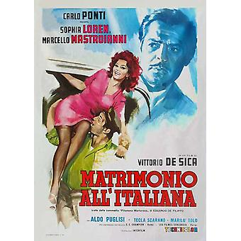 Marriage Italian-Style Movie Poster (11 x 17)