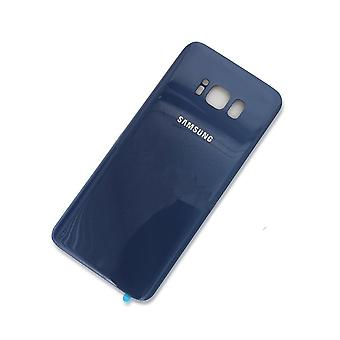 Samsung s8 back – battery cover-Coral Blue – original quality