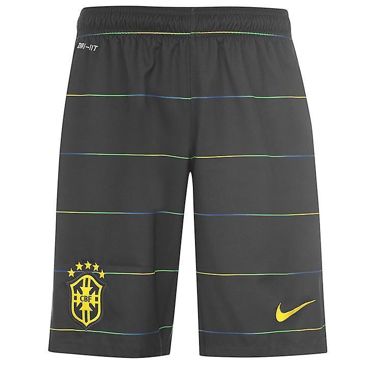 2014-15 Brazil Nike Third Shorts (Black) - Kids