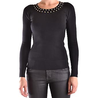 Michael Kors Damen MU76ND05ZW001 Schwarz Viskose Sweater