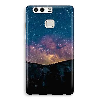 Huawei P9 Full Print Case - Travel to space