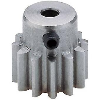 Steel cogwheel Reely Module Type: 1.0 Bore diameter: 3.2 mm No. of teeth: 13