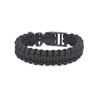 Überleben-schwarze Kordel-Armband