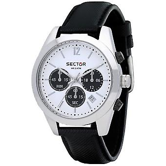 Sector watches mens watch 245 racing chronograph R3271786007
