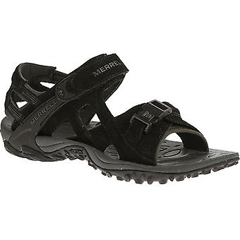 Merrell Mens Kahuna III Pig Suede Leather Neoprene Walking Sandals