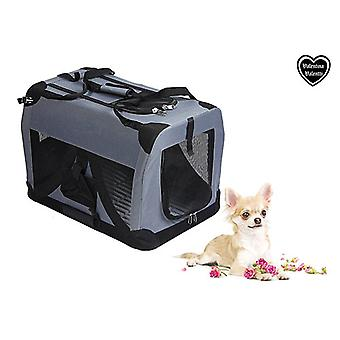 VALENTINA VALENTTI PET FOLDING CANVAS CARRIER TRANSPORT CRATE