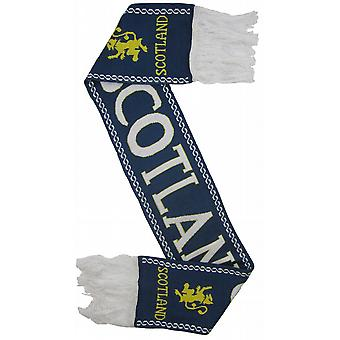 Scotland Lion Rampant Navy Rugby Scarf