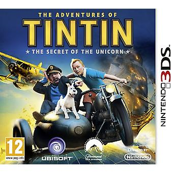 The Adventures Of Tintin The Secret Of The Unicorn The Game (Nintendo 3DS)