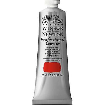Winsor & Newton Professional Acrylic 60ml - 534 Pyrrole Red (S4)